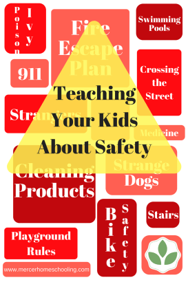 Teaching Your Kids About Safety Graphic