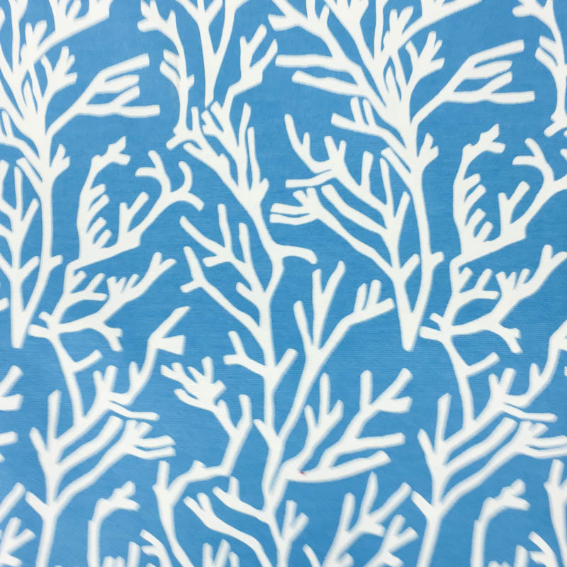 toile exterieure corail bleu loko x10cm