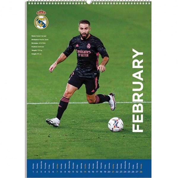 Official Real Madrid FC Calendar 2021: Buy Online on Offer