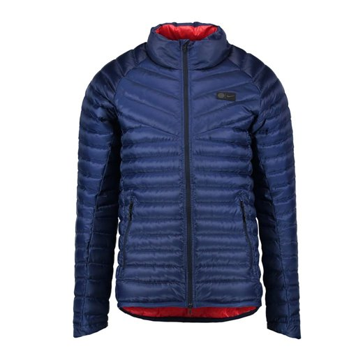 2017 2018 psg nike authentic down jacket navy