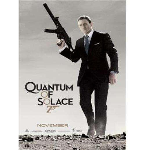 poster james bond 007