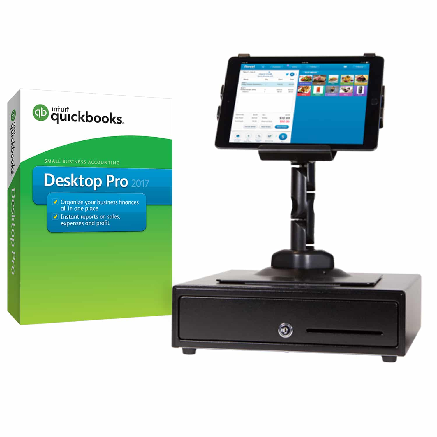 QuickBooks Point of Sale System | Restaurant & Retail POS Systems |  Merchant Account Solutions