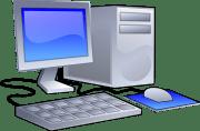 computer set illustration