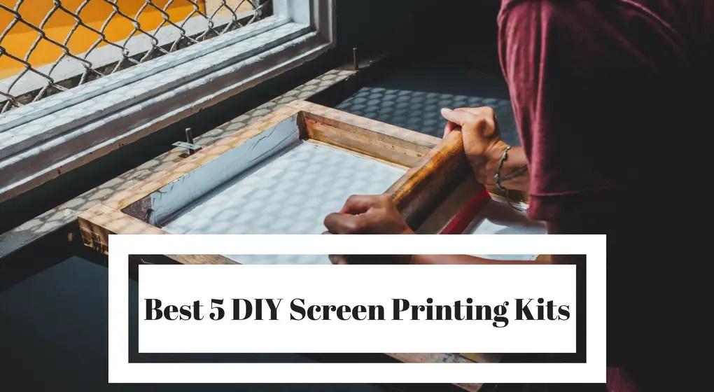 Best DIY Screen Printing Kit