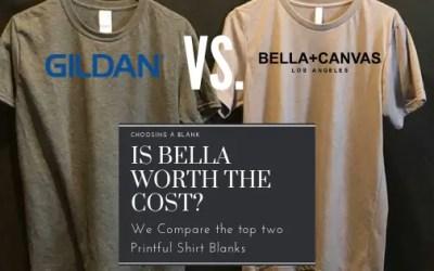 Bella Canvas 3001U Vs Gildan 64000