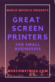 Girl Great Screen Printers Sm Bus