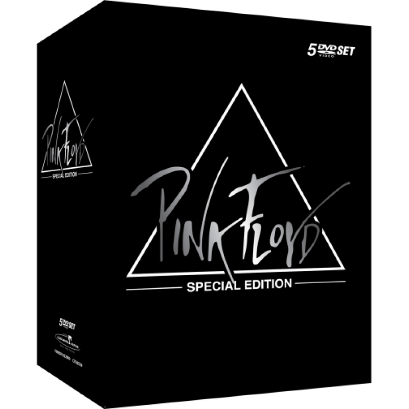 Box Pink Floyd Special Edition 5 DVDs Merci Disco