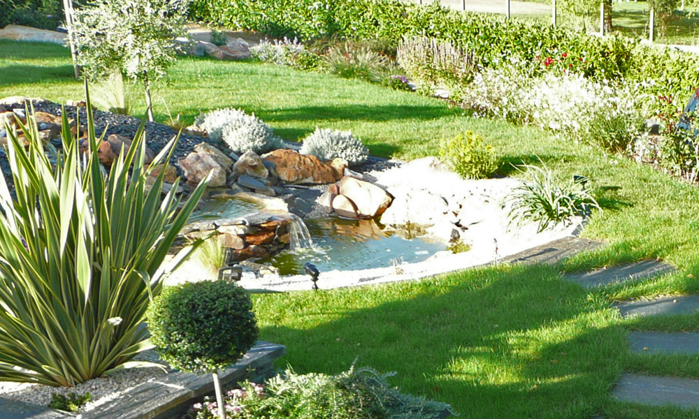 Bassins arrosage mercier paysage paysagiste Amenagement jardin agrement
