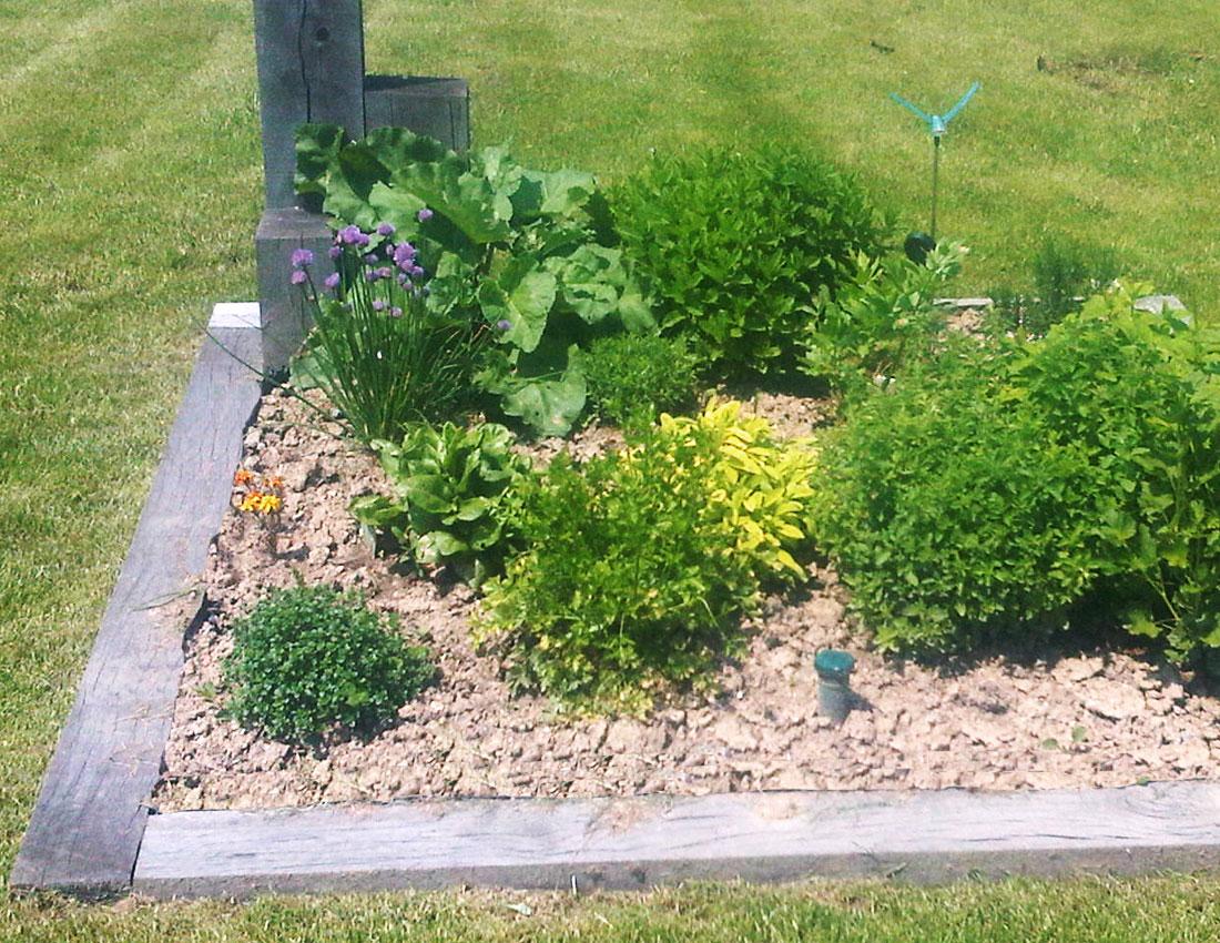 Cr ation d 39 un potager mercier paysage paysagiste for Creation jardin potager