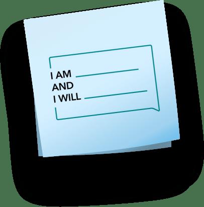 blank pledge note graphic
