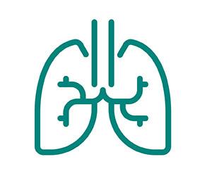 Shortness of breathe icon