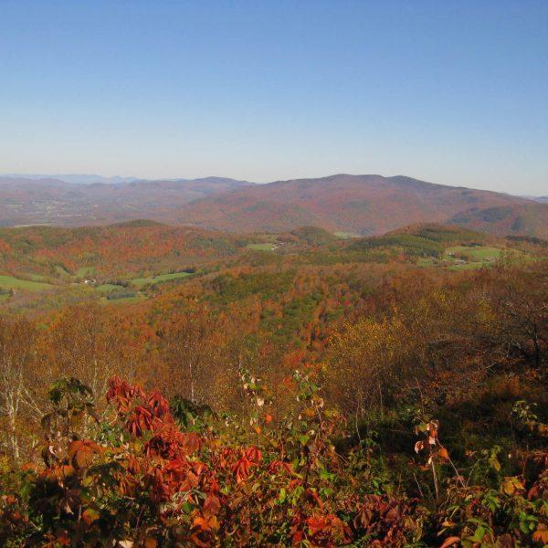vermont foliage mountains
