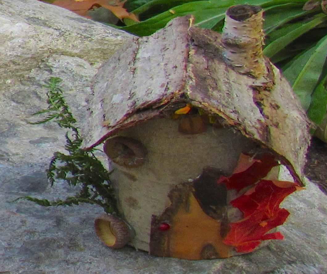VT fairy house