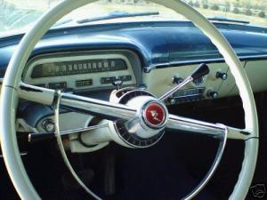 1954 Monterey dash