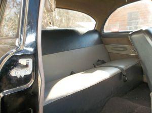 1954 Custom interior