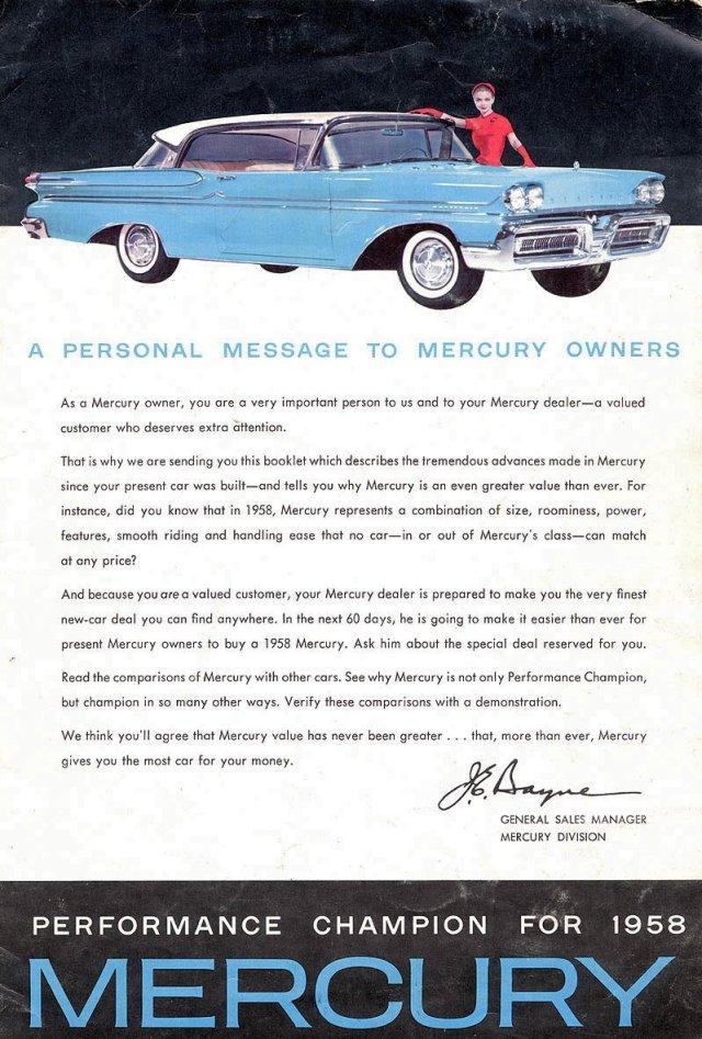 1958 Mercury Page 1