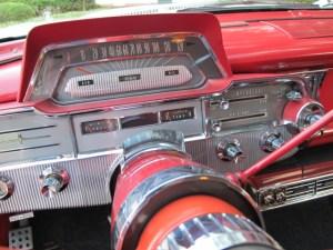 1960 Mercury instrument cluster
