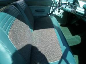 1960 Mercury Monterey tweed inserts