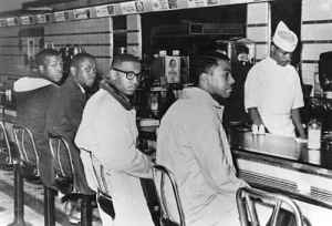 Woolworth lunch counter sit-in
