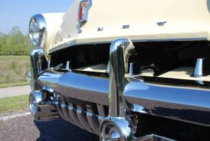 1952 Mercury Front Bumper Guards and Running Lights