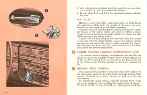 1961 Mercury Owners Manual Pg 35
