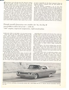 1961 Mercury Monterey Road Test Pg 2