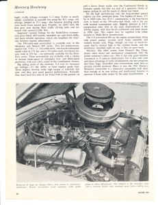 1961 Mercury Monterey Road Test Pg 5