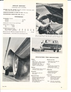 1961 Mercury Monterey Road Test Pg 6