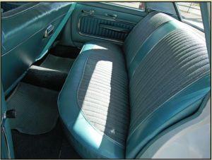 1961 Meteor 800 interior