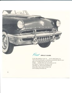 Accessories for Your 1952 Mercury Pg 24