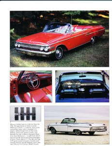 """Collectible Automobile February 2000 """"1961 - 64 Mercury: Downwardly Mobile"""" Pg 5"""