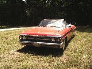 1962 Mercury convertible