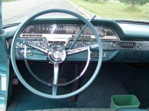 1962 Mercury Monterey instrument panel