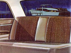 1962 Meteor Custom interior