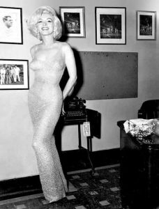 "Marilyn in the ""Happy Birthday Mr. President"" Dress"