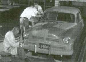 Gregorie designed 1949 Ford