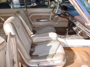 1963 Mercury Monterey S-55 interior (rare 4-dr Hardtop)