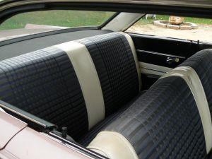 1963 Comet Mercury Custom Sportster interior