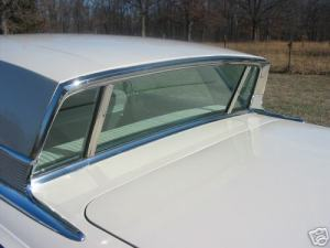 1963 Mercury Monterey backlite