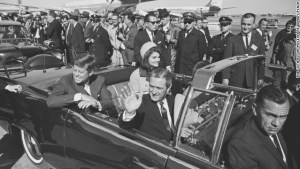 JFK in Dallas, November 22, 1963