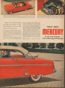 1954 Mercury Ad-10b