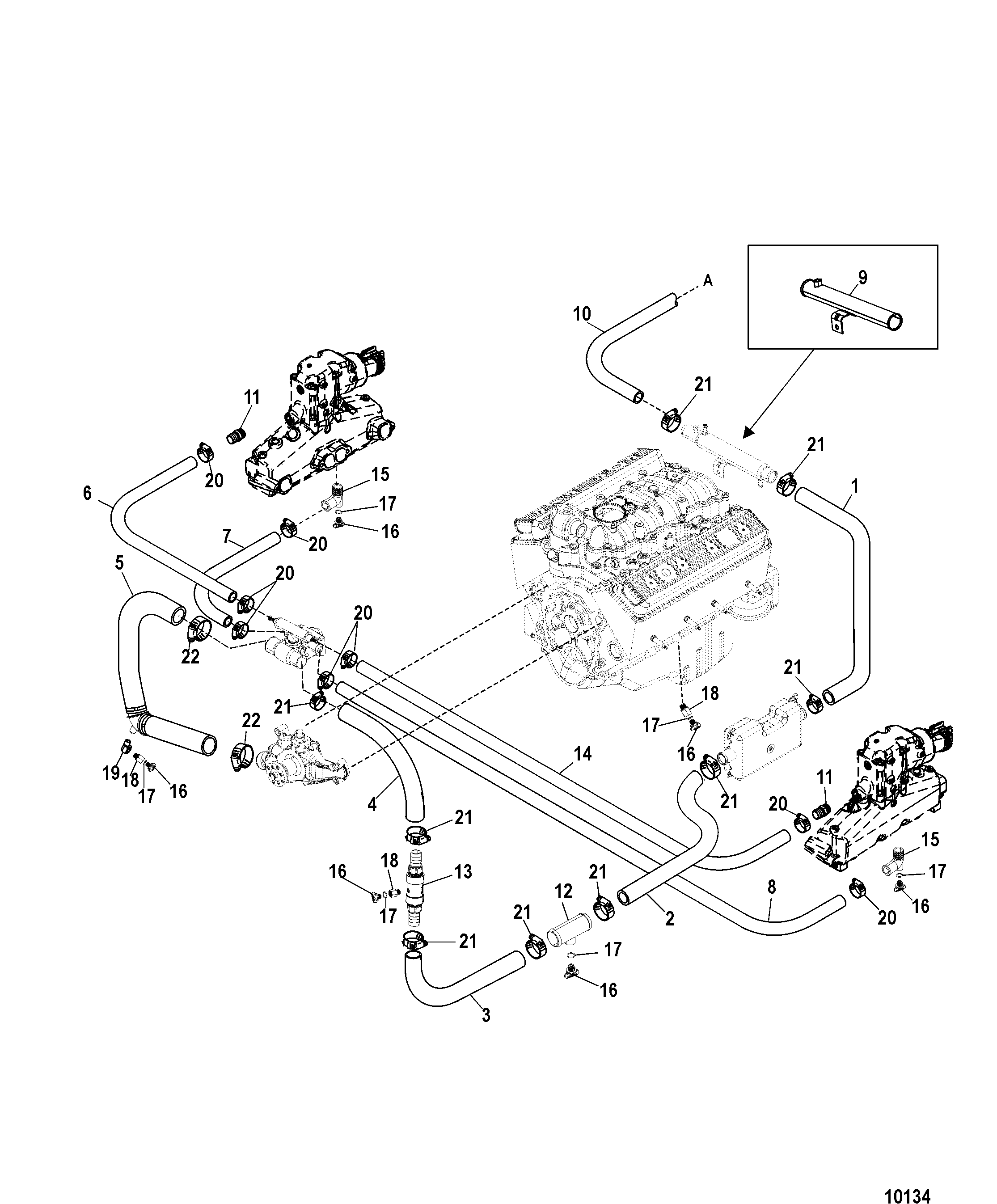 Mercruiser Gas 5 0l Mpi Alpha Bravo
