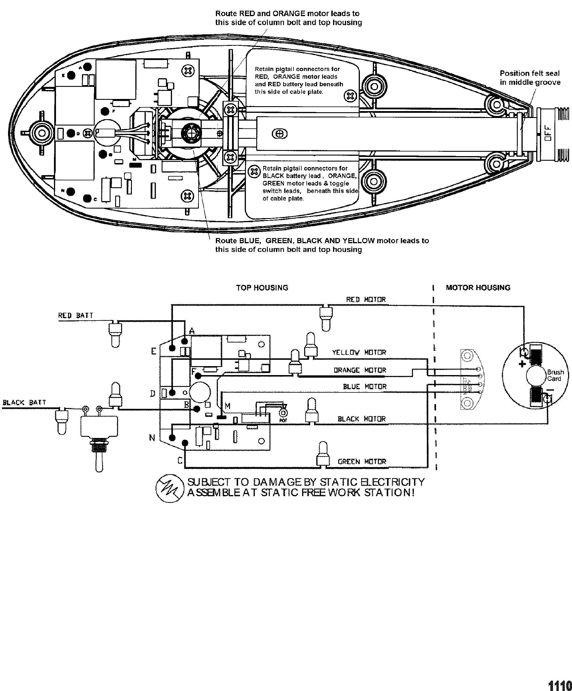 Four Winns Trolling Motor Wiring Diagram