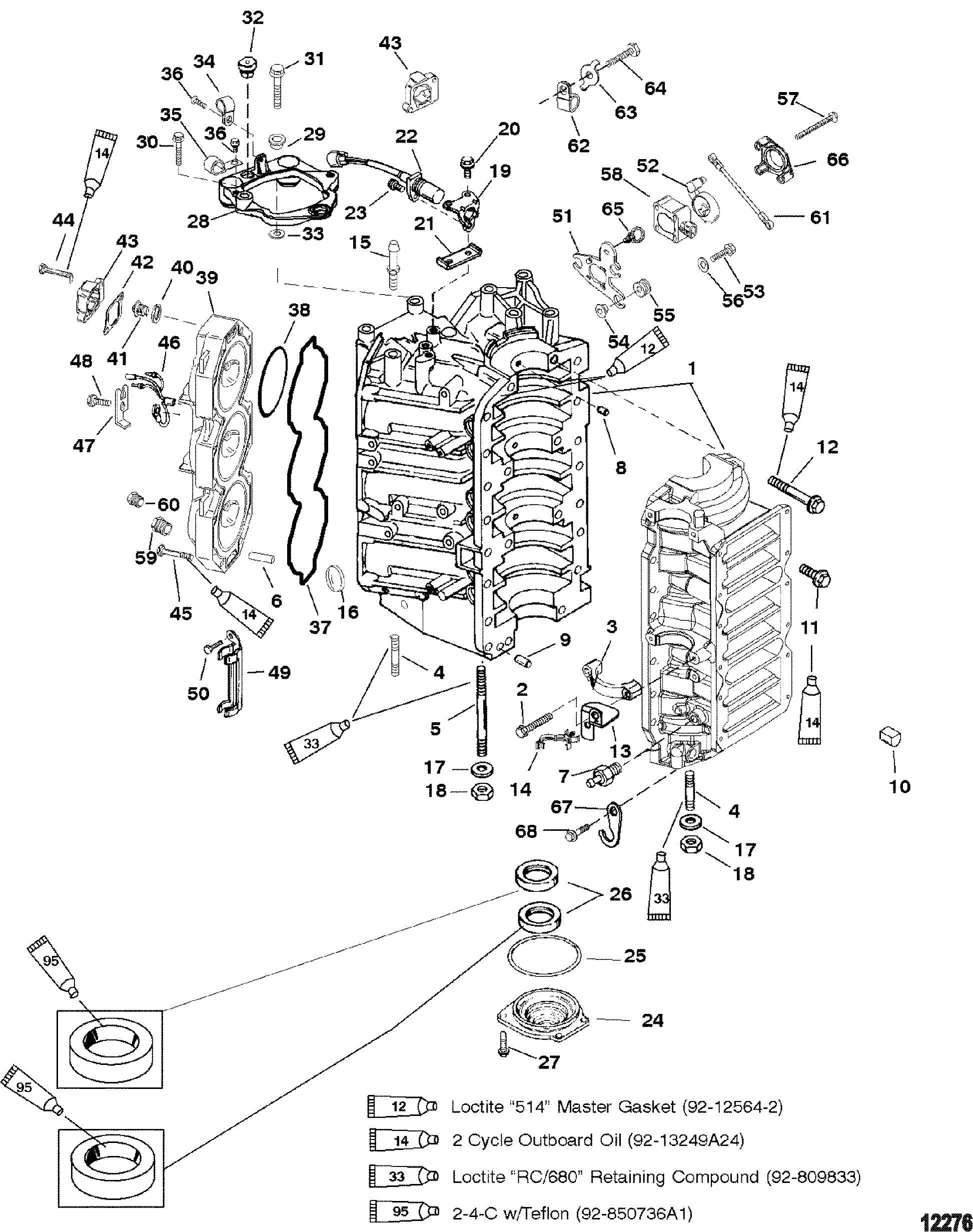 Mercury 2 225 Dfi 0g