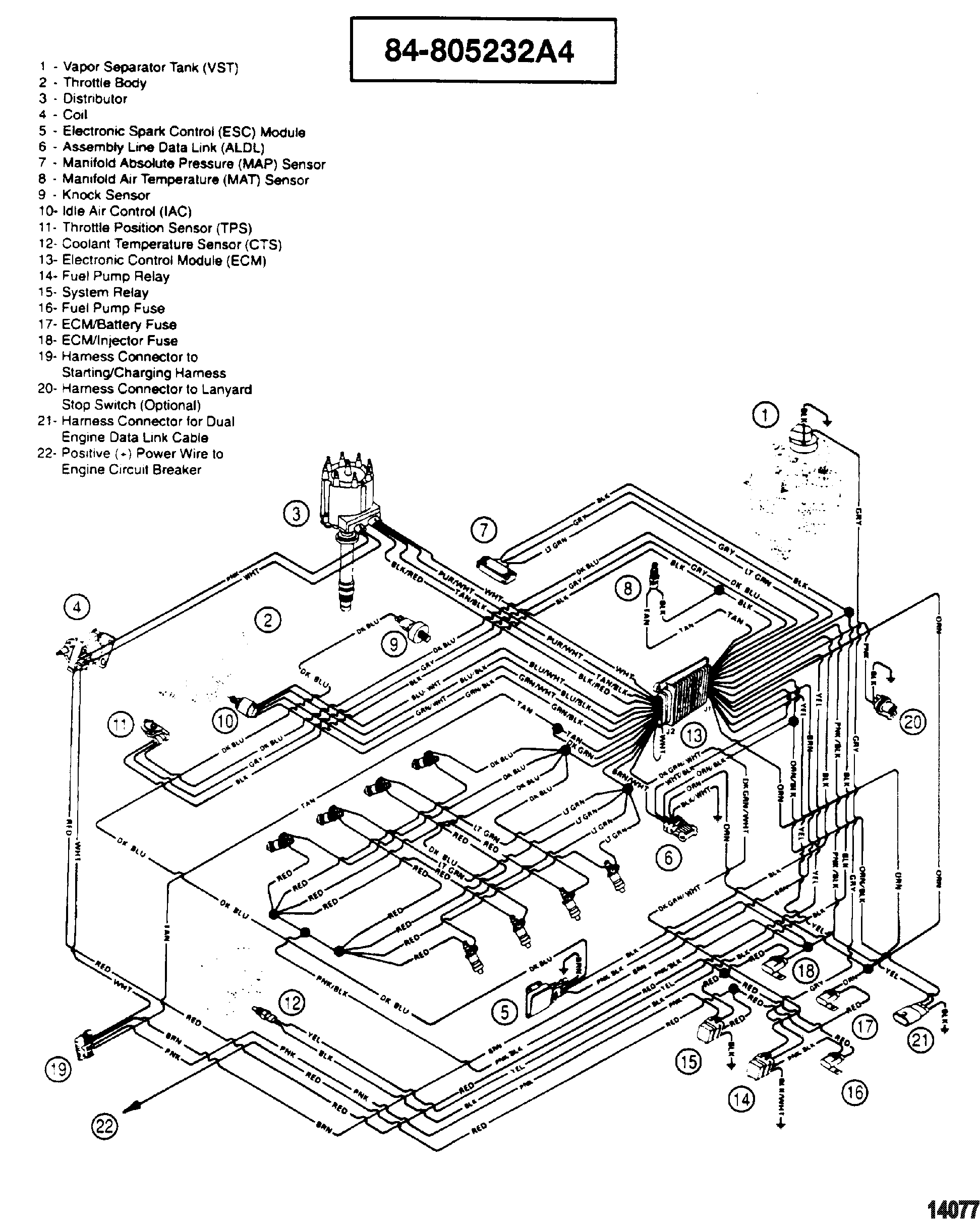 Wire Diagram For Us Marine A8b