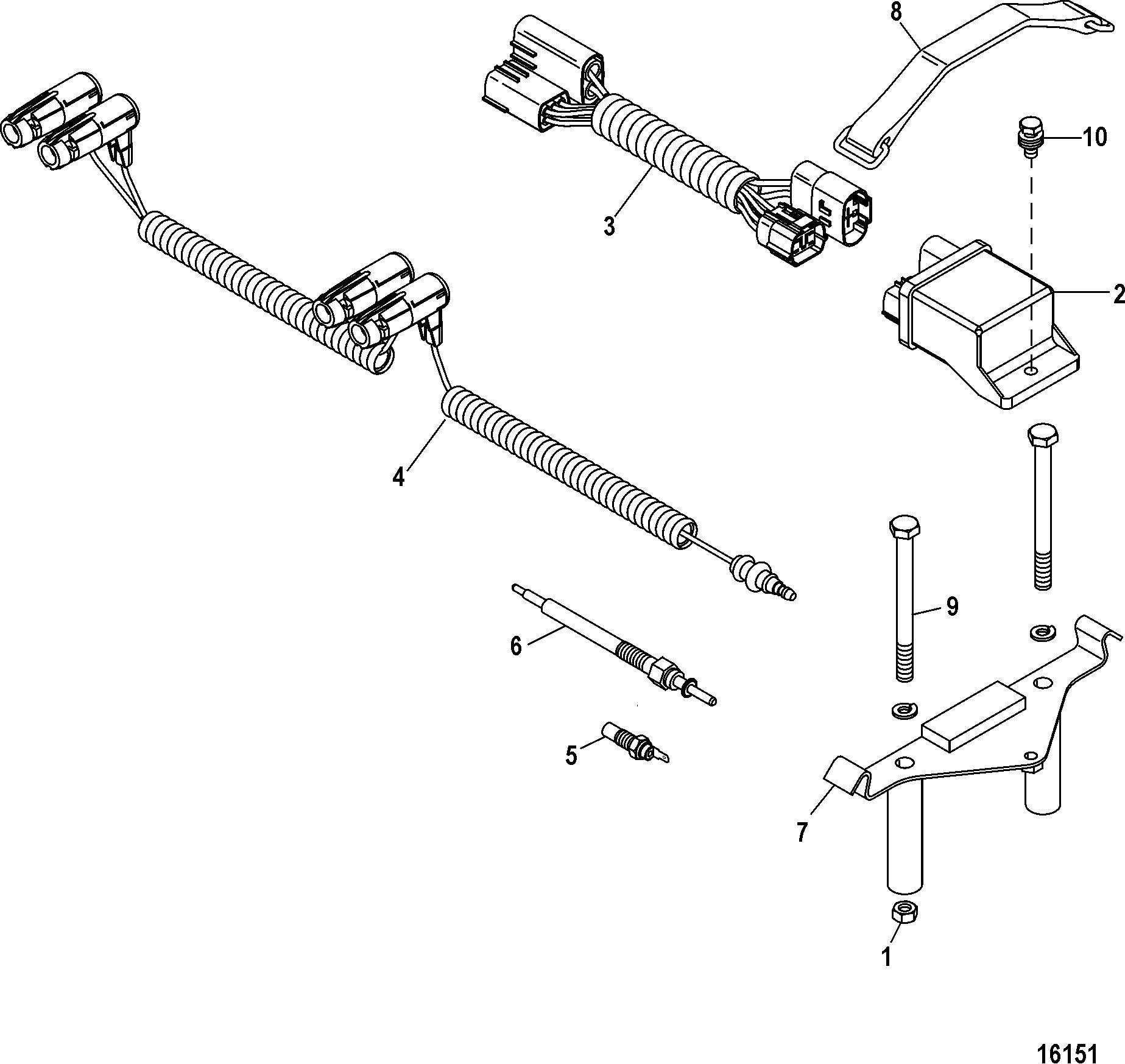 Mercruiser Cmd 1 7 Ms 120 I L4
