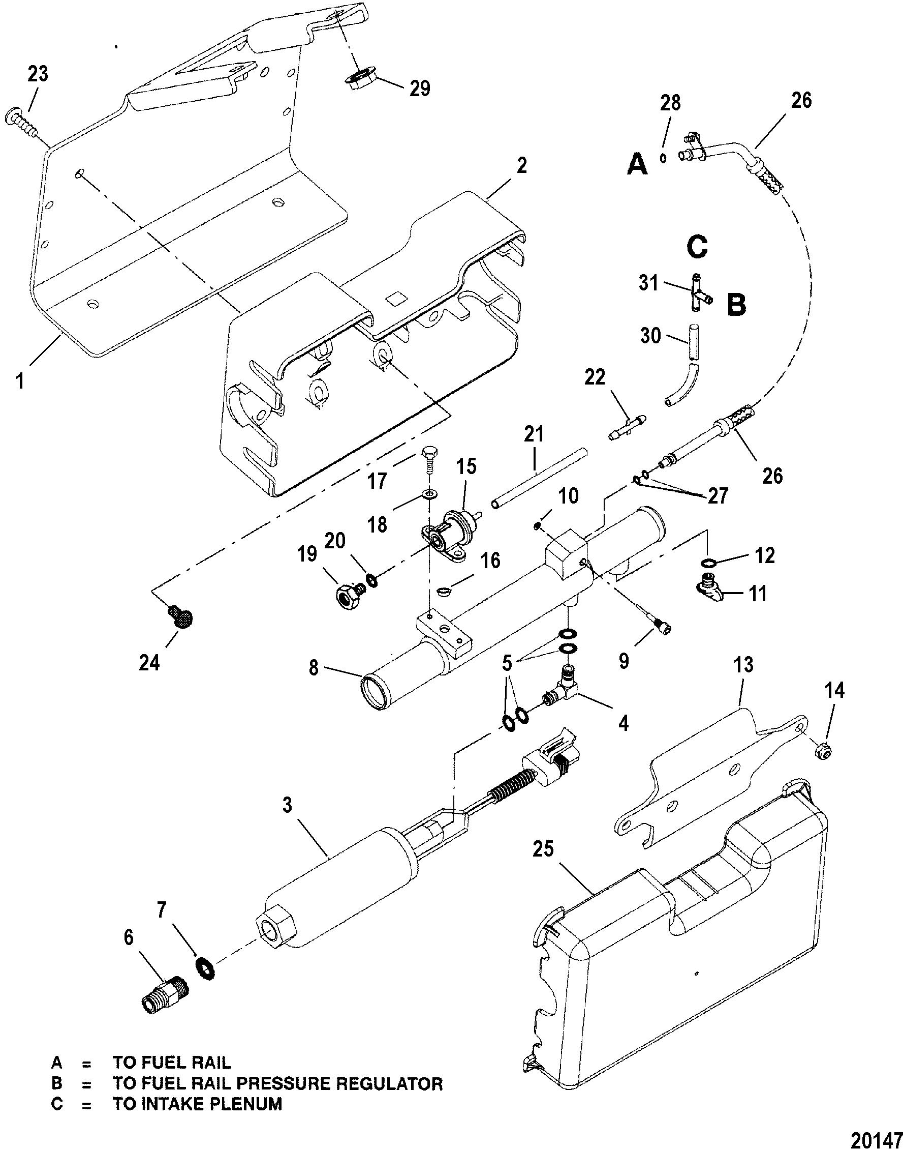 Mercruiser 454 Mag Mpi