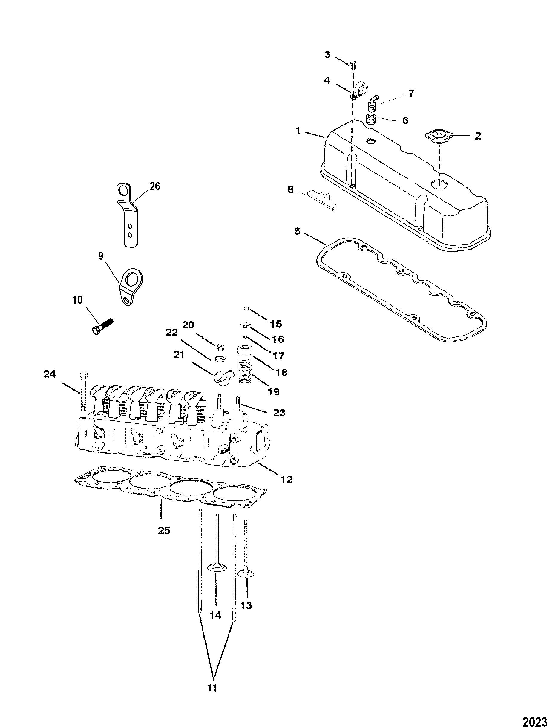 Mercruiser Gas 3 0l Gm 181 I L4 0l
