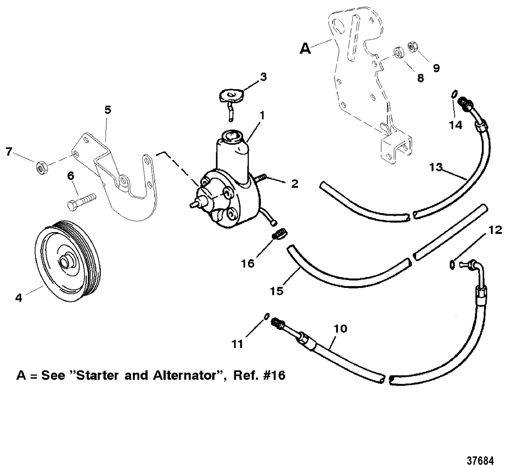 Mercruiser 350 Mag Alpha 4