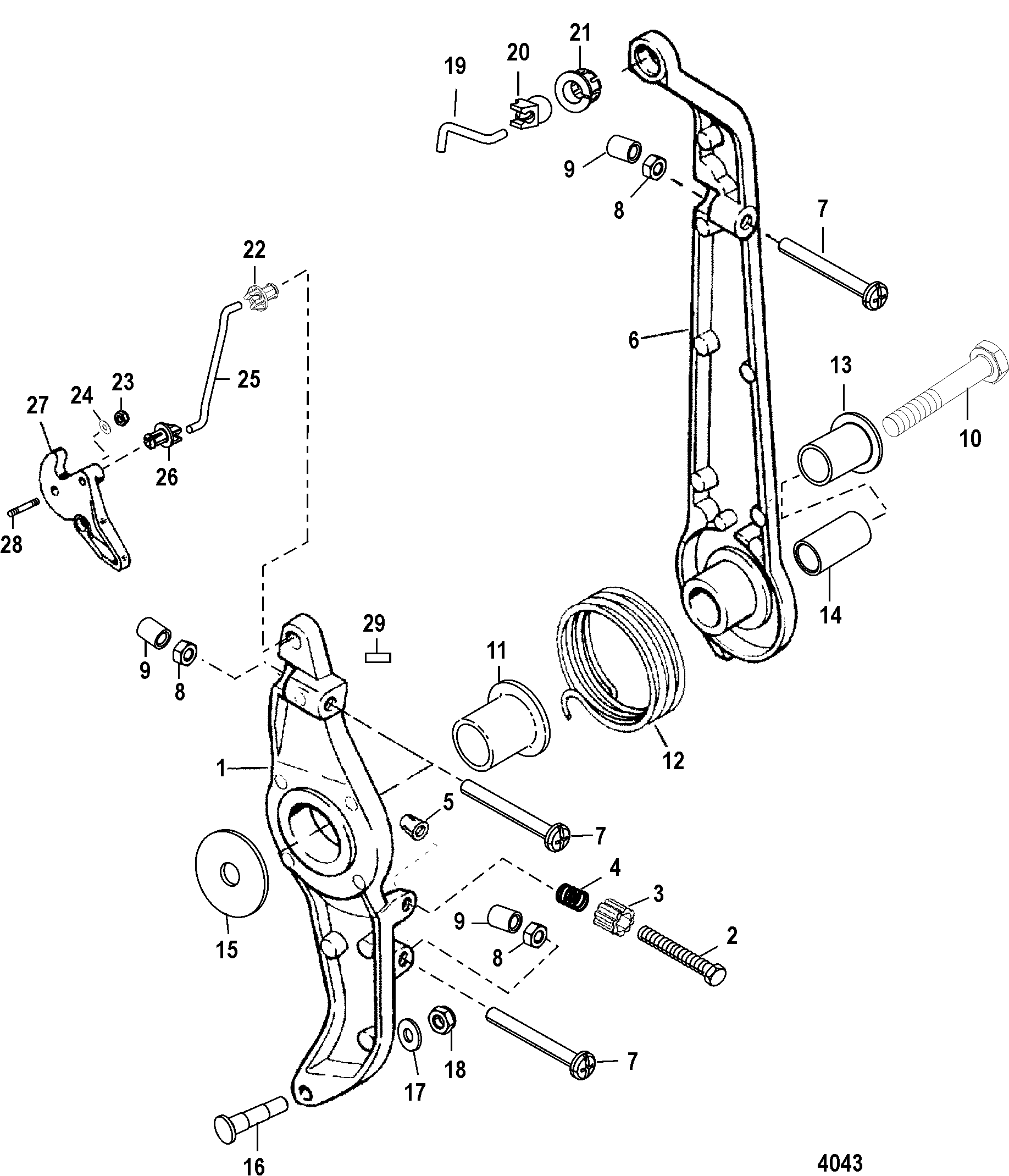 Mercury Quicksilver Control Wiring Diagram